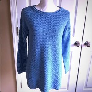 Vince Camuto Light Blue Knitted Sweater/ Pull over